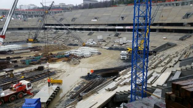 Vodafone Arena Fotoğrafları 12.02.2015 12:30